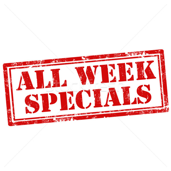 All Week Specials Stock photo © carmen2011