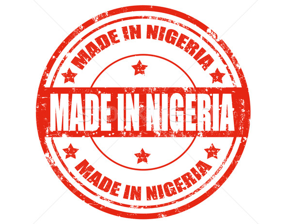 Made in Nigeria Stock photo © carmen2011