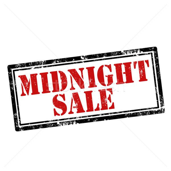 Foto d'archivio: Mezzanotte · vendita · grunge · testo · business