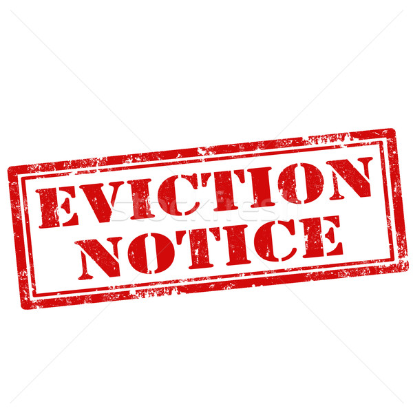 Eviction Notice Vector Illustration  Neculai Carmen Carmen