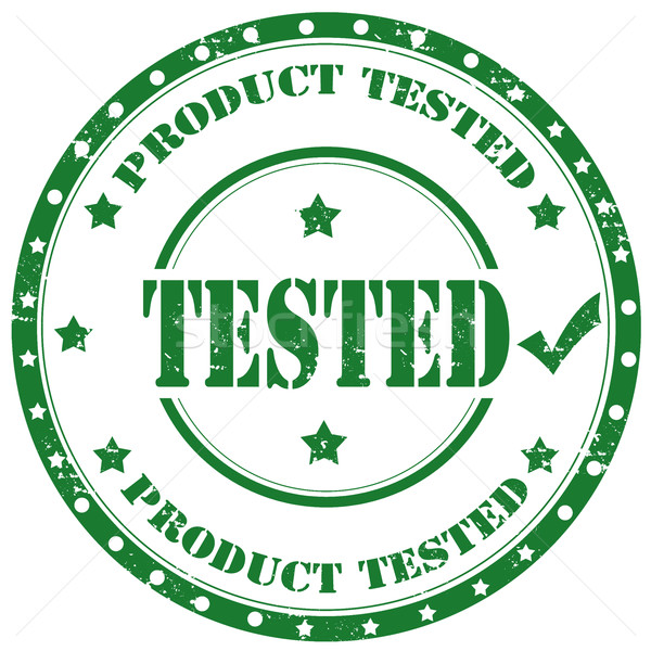 Tested-stamp Stock photo © carmen2011