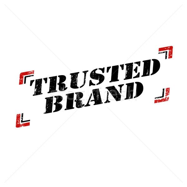 Trusted Brand Stock photo © carmen2011