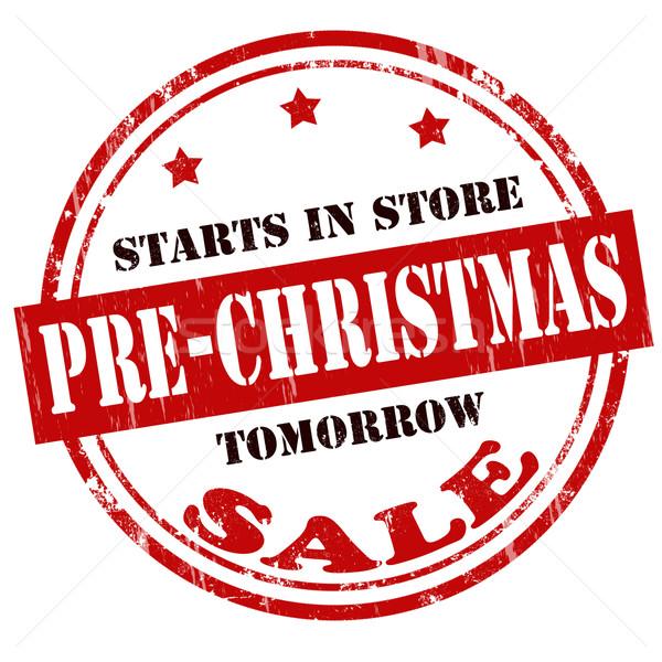 Pre-Christmas Sale Stock photo © carmen2011
