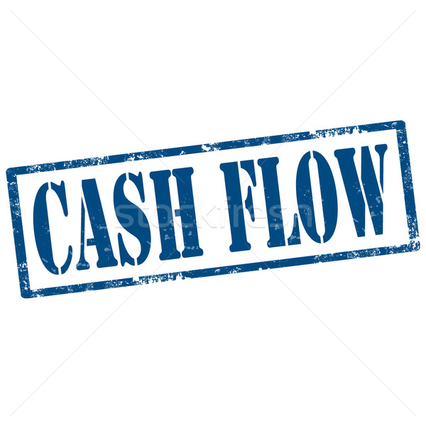 Cash Flow-stamp Stock photo © carmen2011