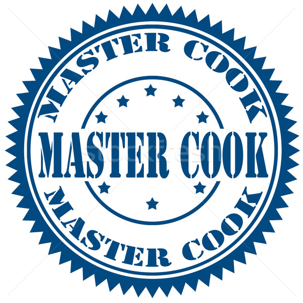 Master Cook-stamp Stock photo © carmen2011