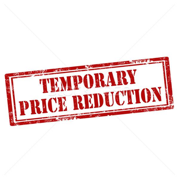 Prijs reductie grunge tekst business Stockfoto © carmen2011