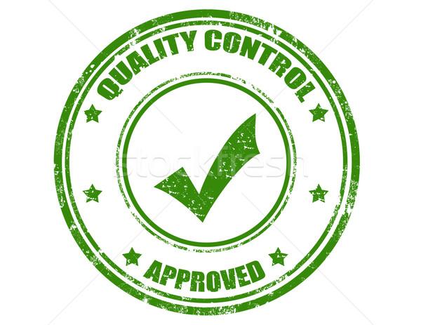 Contrôle de la qualité grunge texte qualité sécurité Photo stock © carmen2011