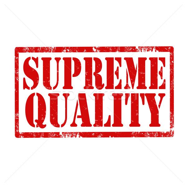 Supreme Quality-stamp Stock photo © carmen2011