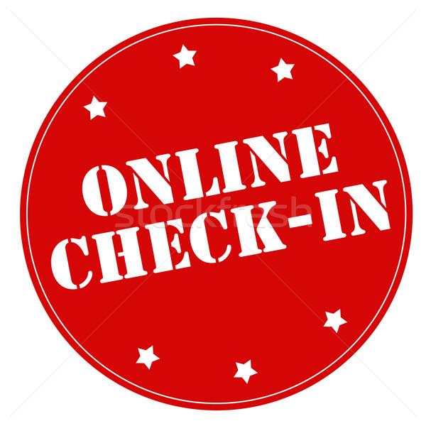 Online Check-In Stock photo © carmen2011