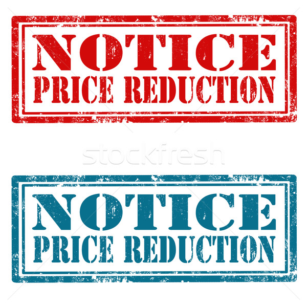 Notice-Price Reduction Stock photo © carmen2011