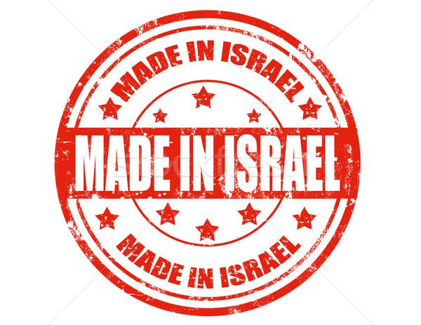 Israele grunge testo business design Foto d'archivio © carmen2011