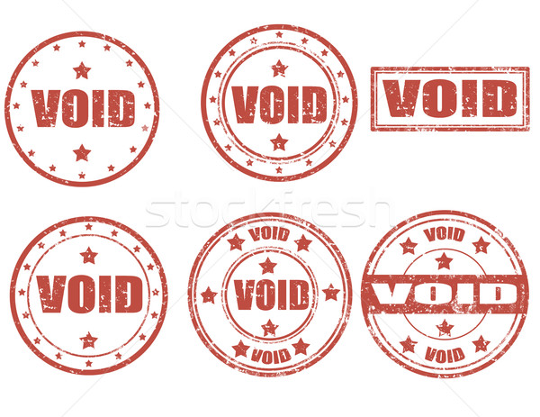 Void-stamps Stock photo © carmen2011
