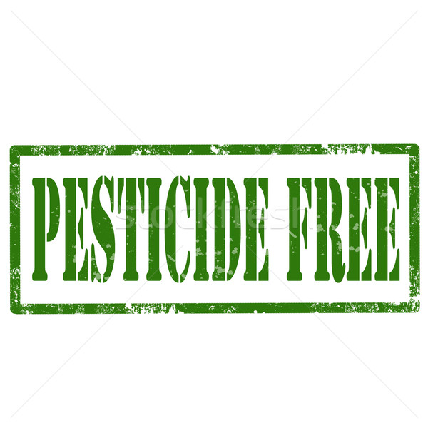 Pesticide Free-stamp Stock photo © carmen2011