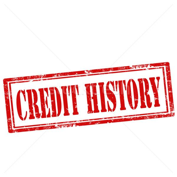 Сток-фото: кредитных · Гранж · текста · информации · история