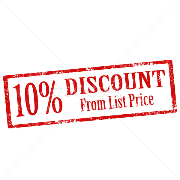 Discount From List Price Stock photo © carmen2011