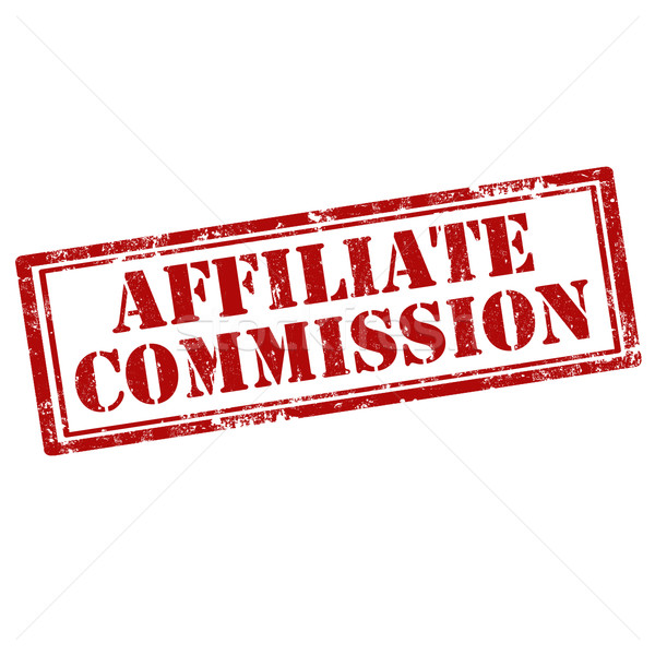 Affiliate Commission-stamp Stock photo © carmen2011