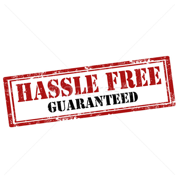 Hassle Free-stamp Stock photo © carmen2011