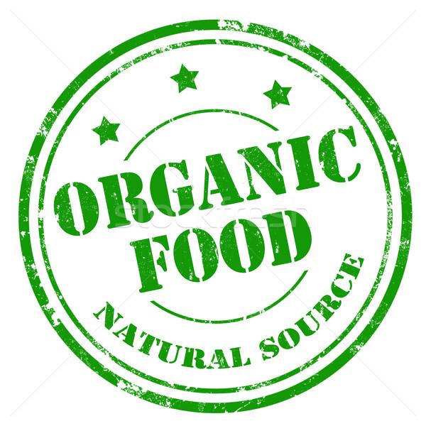 Organic Food-stamp Stock photo © carmen2011