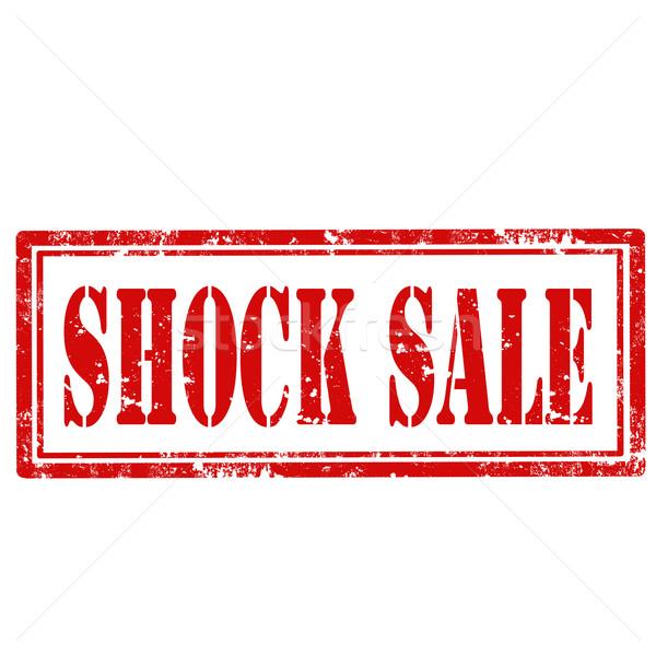 Shock Sale-stamp Stock photo © carmen2011