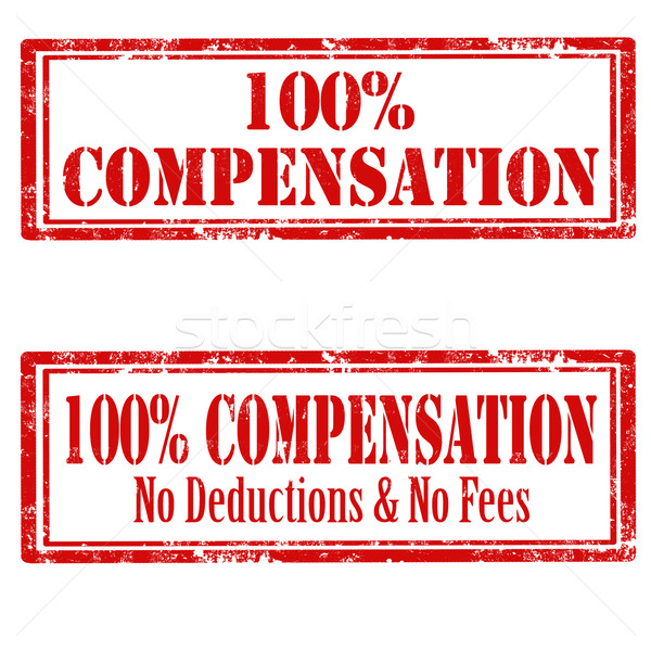 100% Compensation Stock photo © carmen2011