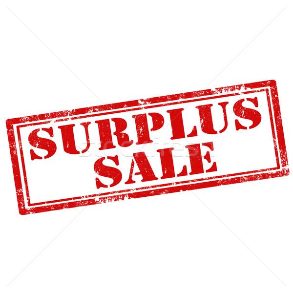 Surplus Sale Stock photo © carmen2011