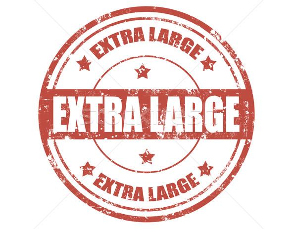 Extra large-stamp Stock photo © carmen2011