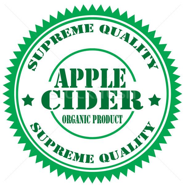 Apple Cider-stamp Stock photo © carmen2011