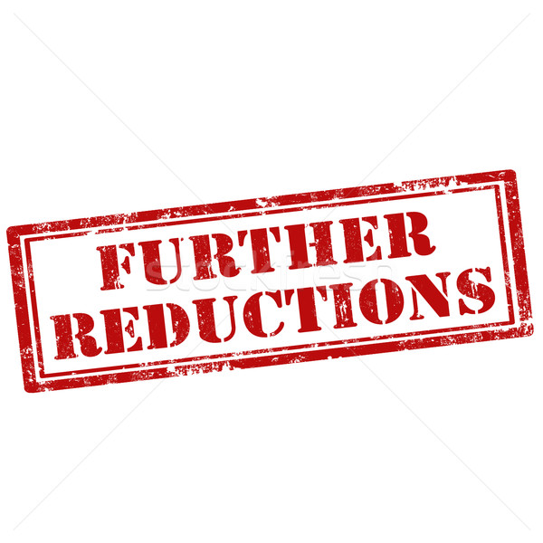 Further Reductions-stamp Stock photo © carmen2011