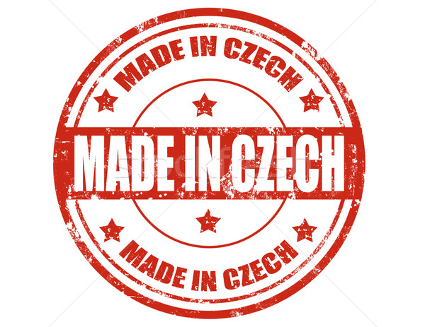 Made in Czech Stock photo © carmen2011