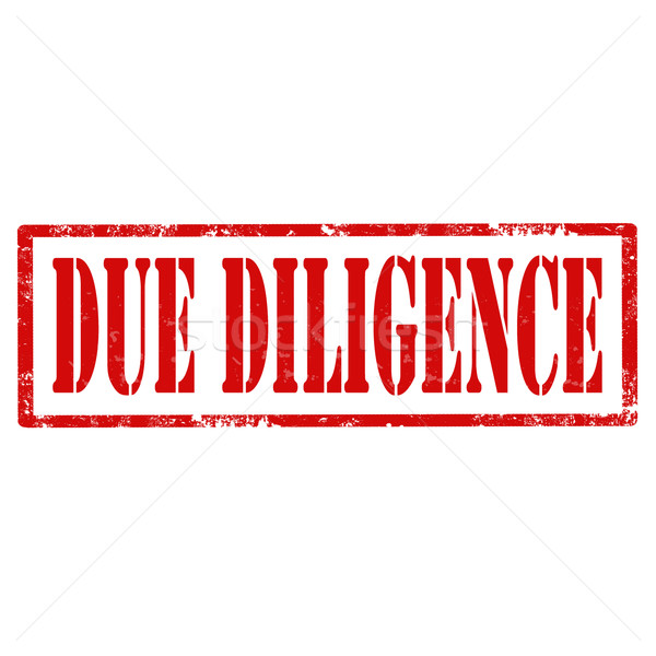 Due Diligence-stamp Stock photo © carmen2011