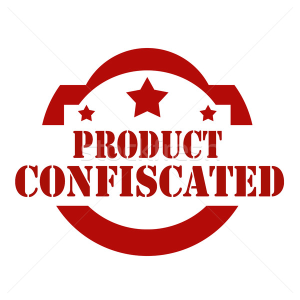 Product Confiscated Stock photo © carmen2011