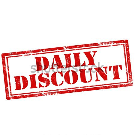 Daily Discount Stock photo © carmen2011
