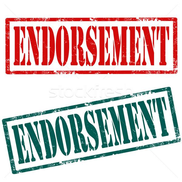 Endorsement-stamps Stock photo © carmen2011