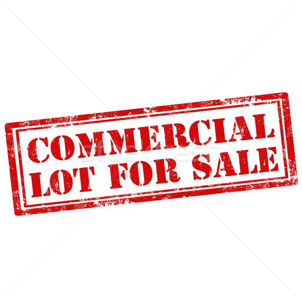 коммерческих продажи Гранж текста знак Сток-фото © carmen2011