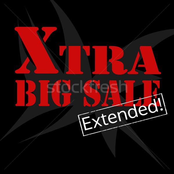 Extra Big Sale Stock photo © carmen2011