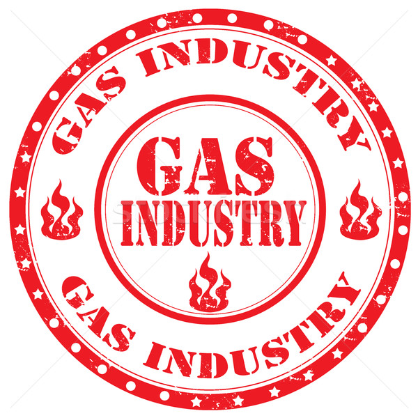 Gas Industry-stamp Stock photo © carmen2011