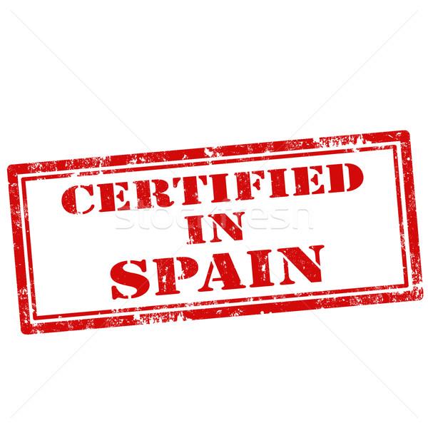 сертифицированный Гранж текста качество резиновые Сток-фото © carmen2011