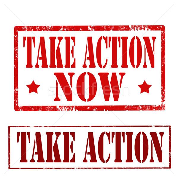 Stock photo: Take Action