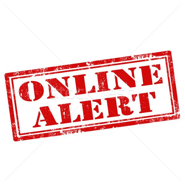 Online Alert Stock photo © carmen2011