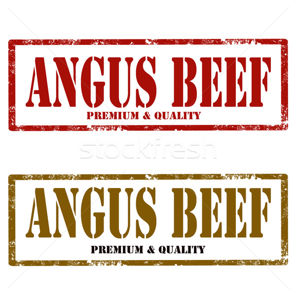 Angus Beef-stamps Stock photo © carmen2011
