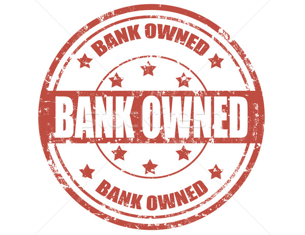 Foto stock: Banco · grunge · texto · vermelho · financiar