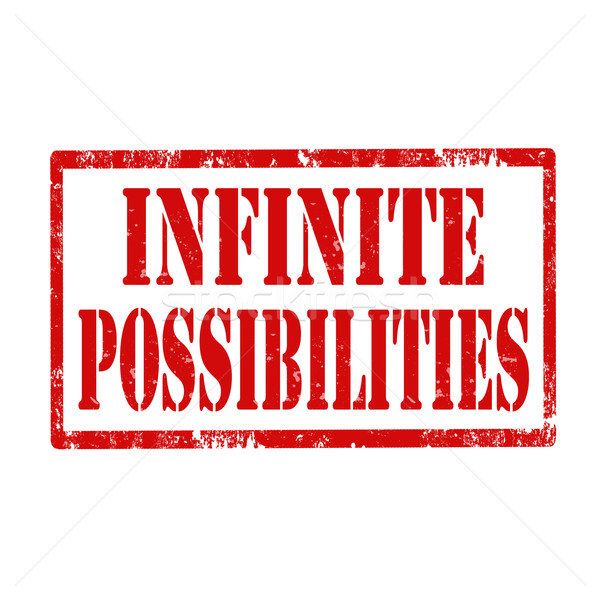Infinite Possibilities-stamp Stock photo © carmen2011