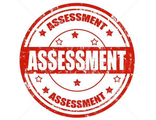 Assessment-stamp Stock photo © carmen2011