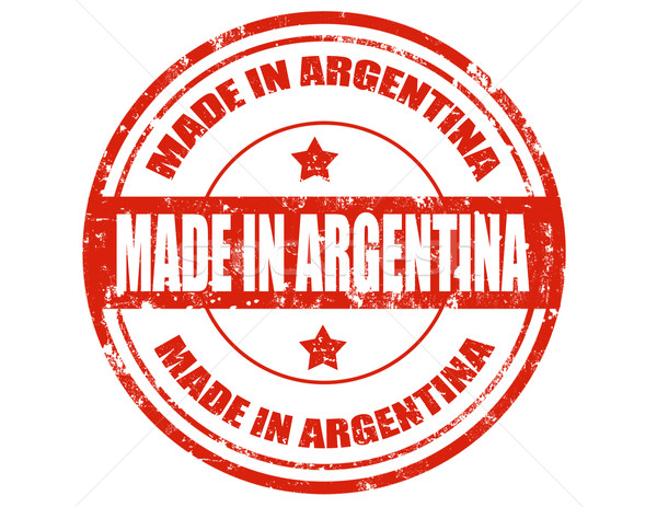 Made in Argentina Stock photo © carmen2011