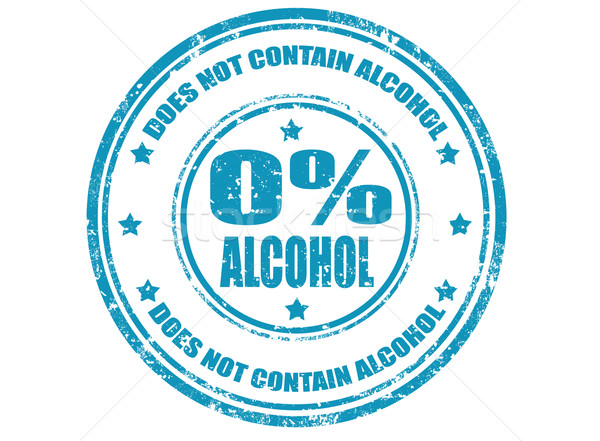 Not contain alcohol-stamp Stock photo © carmen2011