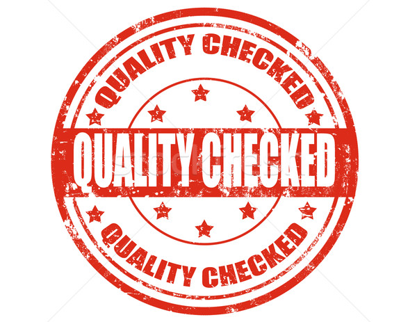 Qualidade grunge texto assinar controlar Foto stock © carmen2011