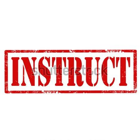 Grunge woord recht rubber icon Stockfoto © carmen2011