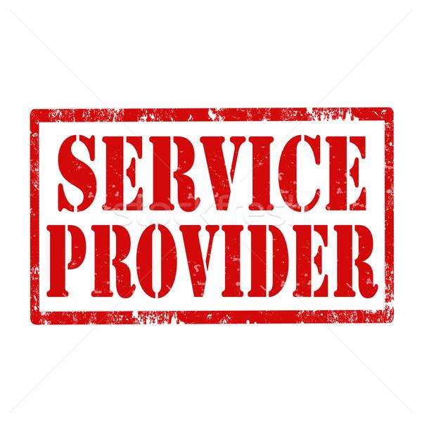Service Provider-stamp Stock photo © carmen2011