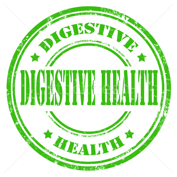 Stock photo: Digestive Health-stamp