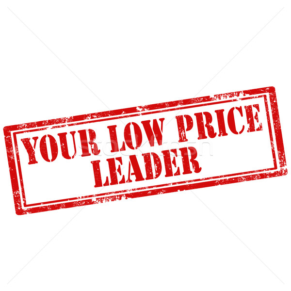 Stock photo: Your Low Price Leader